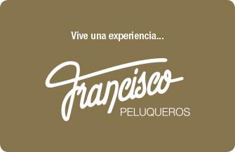 Francisco peluqueros tarjeta regalo francisco peluqueros for Francisco peluqueros porto pi